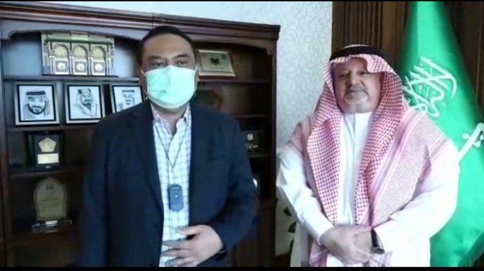 Bertemu Komjen Purn Syafruddin, Dubes Saudi: Semoga Izin Masuk Umrah dan Haji Bisa Segera Dibuka