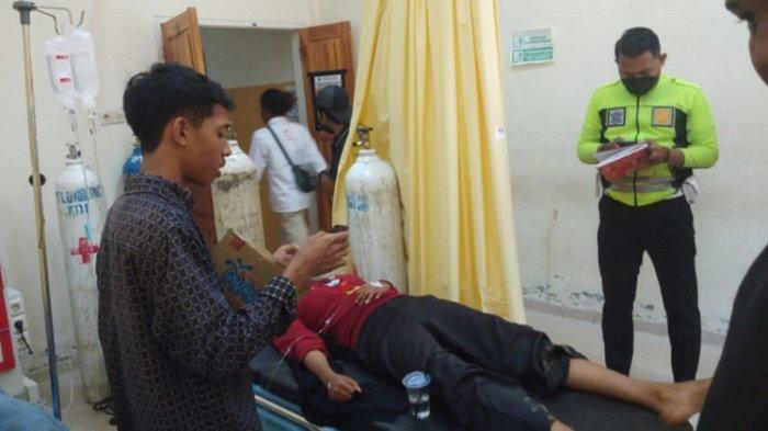 2 Korban Angkot Terjun ke Sungai Tabrak Batas Jalan Jembatan Dirawat Intensif di RSUD Kota Kendari