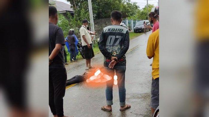 Viral! Perempuan Meninggal Dunia di Tengah Jalan di Kota Baubau, Diduga Korban Tabrak Lari