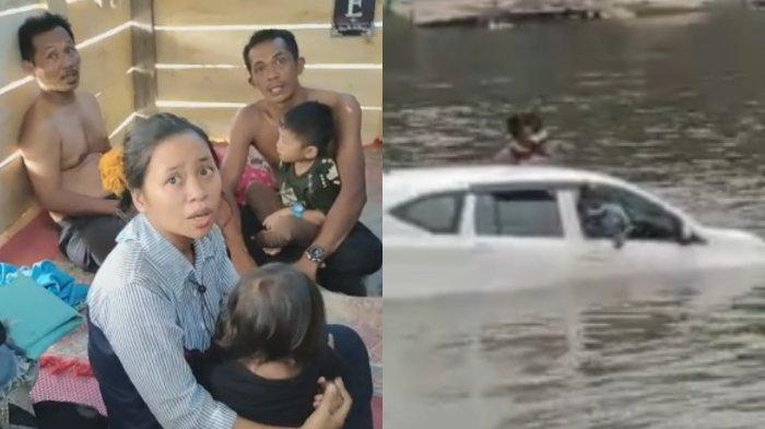 Identitas 5 Korban Selamat, 3 Hilang dalam Mobil Tenggelam di Konawe, 1 Rumpun Keluarga dari Konsel
