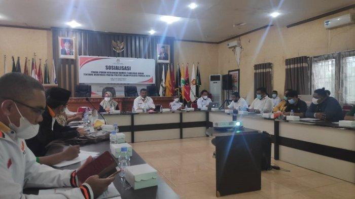 KPU Sultra Tunggu Penetapan Jadwal Pelaksanaan Pemilu 2024 untuk Verifikasi Partai Politik