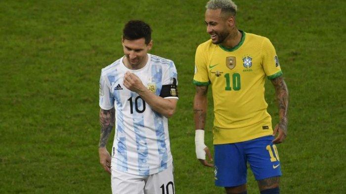 Jadwal dan Prediksi Brasil vs Argentina: Kondisi Lionel Messi Usai Kena Tekel Horor Pemain Venezuela