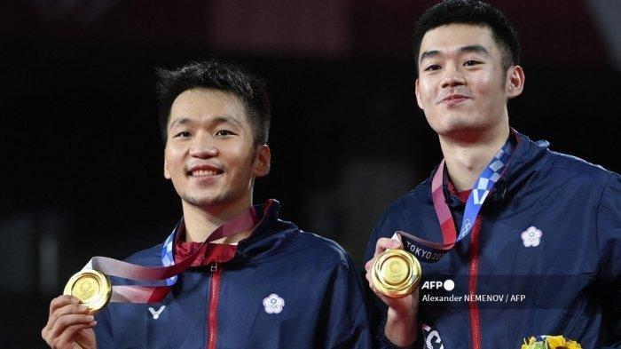 Raih Emas Olimpiade Tokyo, Lee Yang/Wang Chi-lin Absen di Piala Sudirman 2021