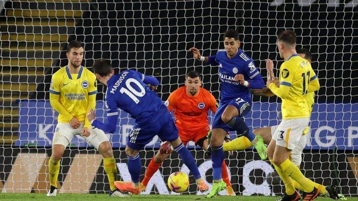 Seusai Kalahkan Brighton, Leicester City Ambil Alih Posisi Runner-up di Hasil Klasemen Liga Inggris