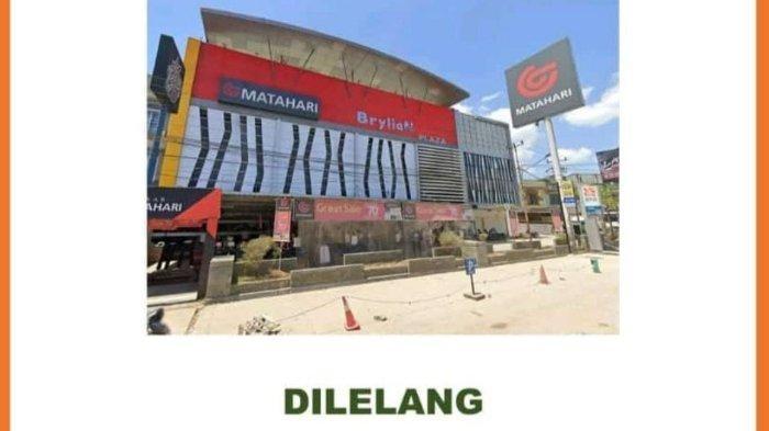 Bank BNI Lelang Brylian Plaza Kendari, Dilelang Rp70,162 Miliar