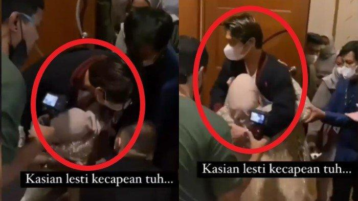 Detik-detik Lesty Kejora Pingsan Hingga Dibopong Rizky Billar Usai Manggung Acara Pengantin di Medan