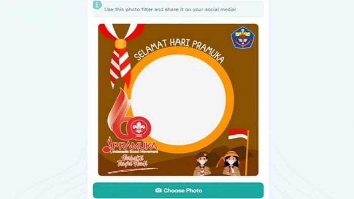 Link Twibbon Hari Pramuka 2021 yang ke-60, Lengkap Cara Membuat hingga Membagikan ke Media Sosial