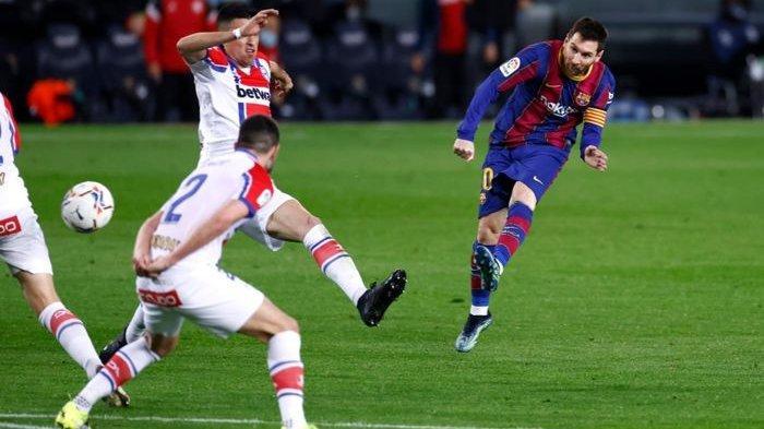 Kado Spesial Hari Valentine, Lionel Messi Hadiahi Kemenangan 5-1 atas Alaves di Camp Nou