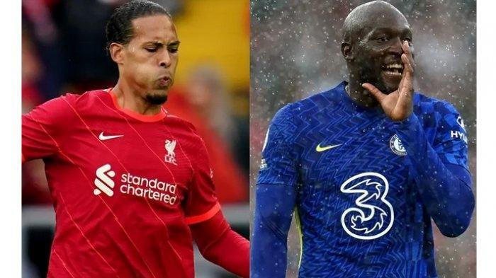 Siaran Langsung Liverpool Vs Chelsea, Duel antara Virgil van Dijk dan Romelu Lukaku
