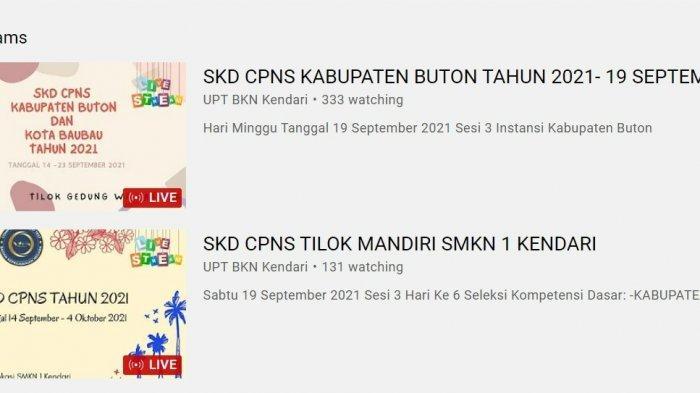 Live Score Hasil SKD CPNS Sulawesi Tenggara 2021, Pemprov Sultra, Buton, Baubau, Muna, Koltim, Konut