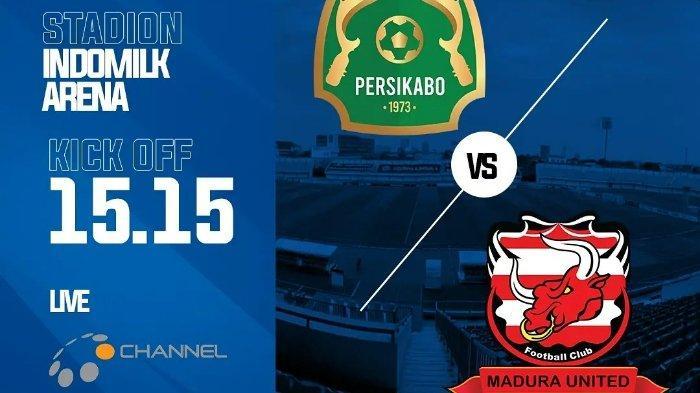 Live Streaming Ochannel Liga 1 2021 Hari Ini, PS Tira Persikabo vs Madura United, Jadwal Pekan ini
