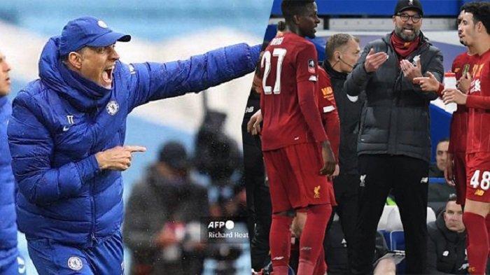 Jelang Liverpool vs Chelsea; Klopp Sanjung Tuchel, Hadapi Lukaku, Diperkuat Van Dijk dan Robertson