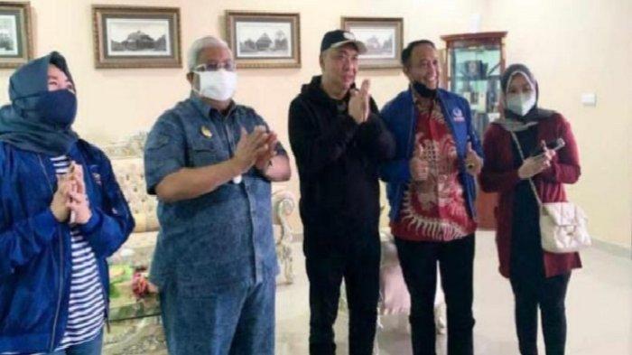 Mantan Bupati Muna BaratRajiun Tumada Gabung ke Partai NasDem, Usai Bertemu Ahmad Ali