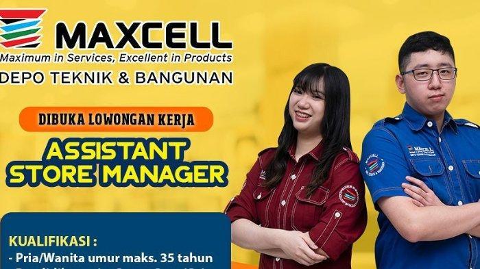 Lowongan Kerja Kendari, Maxcell Buka Loker Assistant Store Manager, Jadwal, Syarat, Cara Pendaftaran
