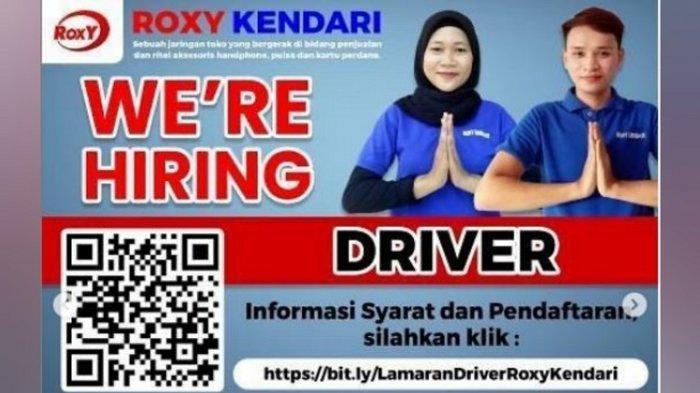 Lowongan Kerja Kendari, Butuh Driver Minimal Lulusan SMA/SMK, Roxy Buka Pendaftaran hingga 28 Juli
