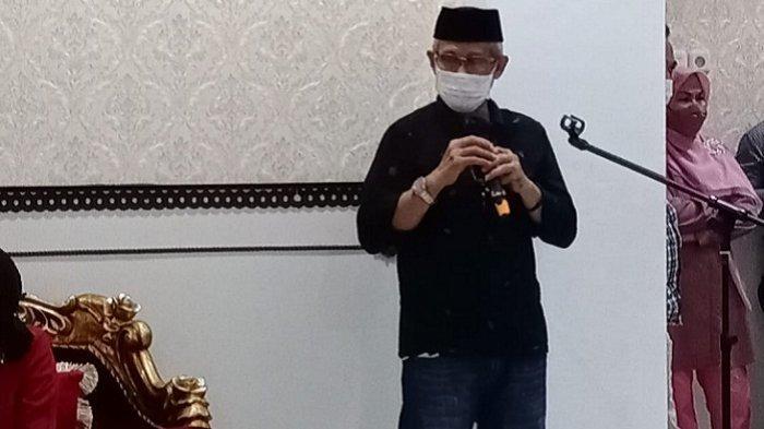 Wakil Gubernur Sultra Berpesan ke Apriyani Rahayu agar Selalu Mengharumkan Nama Kabupaten Konawe