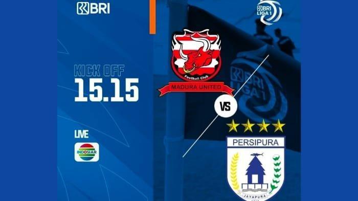 Madura United vs Persipura Liga 1 Hari Ini, Pukul 15.15 WIB Live Indosiar, Madura Tebar Ancaman