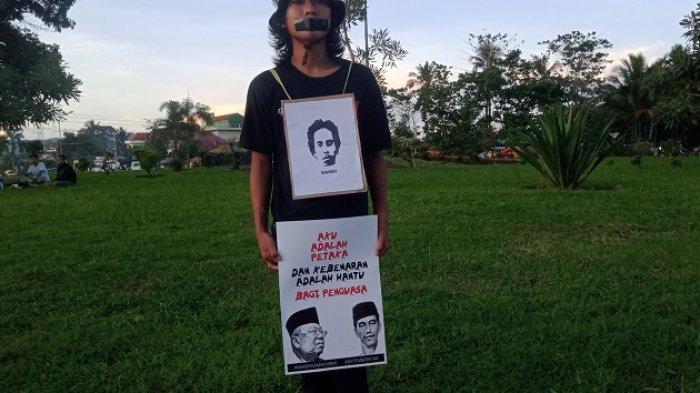 Jelang Peringatan September Hitam Berdarah, Mahasiswa Gelar Aksi Diam Tuntut Penembak Yusuf Diungkap
