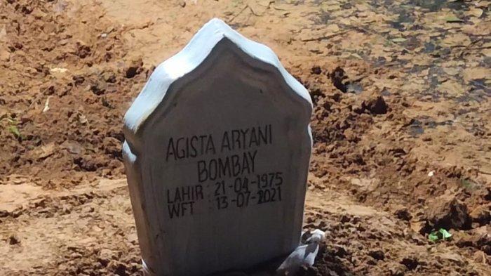 Agista Ariani Bombay Tutup Usia Diumur 46 Tahun, Didoakan Gubernur Ali Mazi Jelang Pemakaman