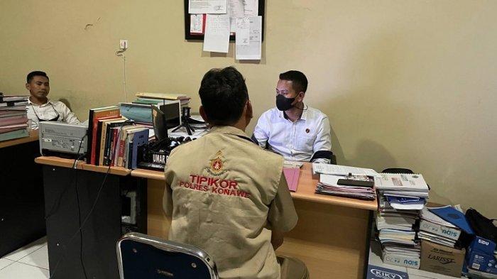 Diduga Terlibat Korupsi DAK, Mantan Kadis PPKB Kabupaten Konawe Ditahan Polisi