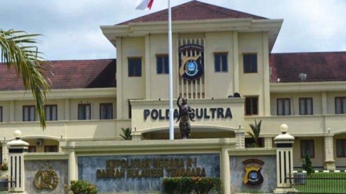 Markas Kepolisian Daerah Sulawesi Tenggara (Polda Sultra) Jl Haluoleo, Kelurahan Mokoau, Kecamatan Kambu, Kota Kendari Provinsi Sulawesi Tenggara (Sultra). Kepolisian Daerah Sulawesi Tenggara ( Polda Sultra) mau menghentikan penyelidikan dugaan korupsi anggaran makan minum di Sekretariat DPRD Sultra.