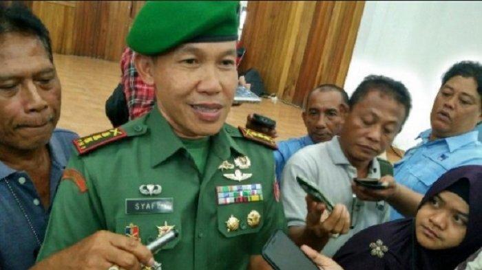 Pangdam XIV Hasanuddin yang baru Mayjen TNI Mochamad Syafei Kasno saat masih berpangkat Kolonel.