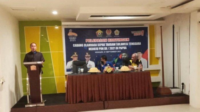 Andi Sumangerukka Bantu Rp50 Juta Atlet Sepak Takraw, Janji Beri Bonus Peraih Emas PON Papua 2021