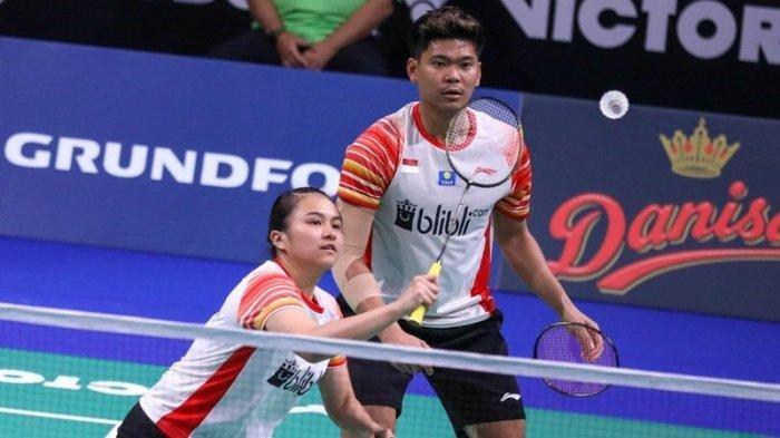 Atlet bulutangkis Indonesia Melati Daeva Oktavianti