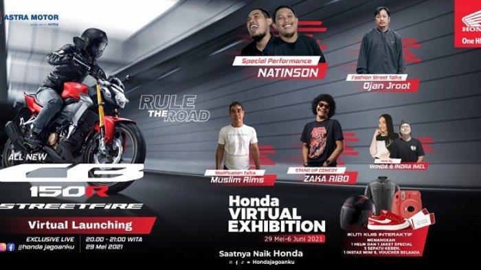 Asmo Sulsel Luncurkan Varian Terbaru All New Honda CB 150R Streetfire, Hanya Rp30 Jutaan