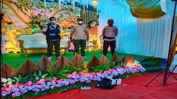 PPKM Mikro, Tim Satgas Covid-19 Kendari Bubarkan Resepsi Pernikahan di Kelurahan Labibia Mandonga