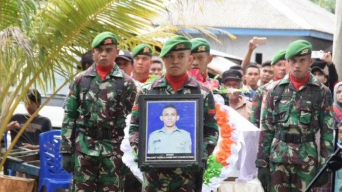 Sebelumnya, Praka Anumerta Risno gugur dalam kecelakaan helikopter bersama beberapa rekannya dari Satgas Yonif 725/Woroagi.