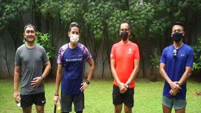 Buka Kendari Triathlon 2021, Menparekraf Sandiaga Uno: Saya Mengikuti Secara Virtual dari Jakarta