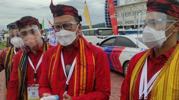 Mesranya Rosan Roeslani, Arsjad Rasjid, Anindya Bakrie Lepas Jokowi di Kendari Hendak ke Jakarta