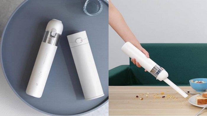 Mi Vacuum Cleaner Mini, Robot Pembersih Rumah Praktis Cocok Buat yang Berkegiatan Padat