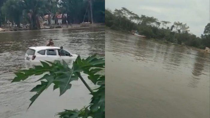 Kronologis dan Penyebab Mobil Terjun dari Pincara, Hanyut, dan Tenggelam di Sungai Konaweha Konawe