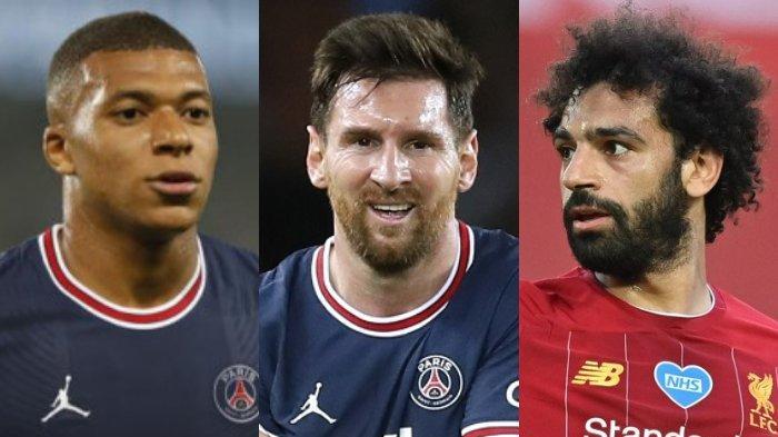 Lionel Messi Belum Cukup, Mohamed Salah Diincar PSG dari Liverpool Jika Kylian Mbappe ke Real Madrid