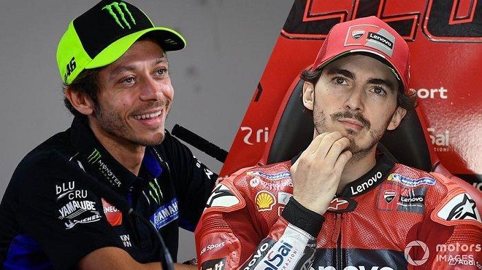 Jelang MotoGP Emilia Romagna 2021, Valentino Rossi Sanjung Francesco Bagnaia Taklukan Ducati