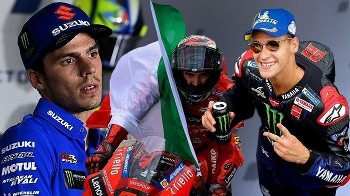 Jadwal MotoGP 2021 Terbaru, Prediksi Gelar Juara Dunia, Quartararo, Bagnaia atau Joan Mir