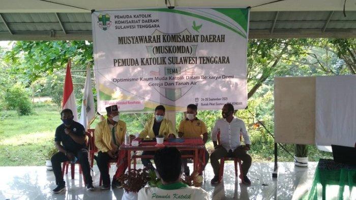 Pemuda Katolik Komisariat Daerah Sulawesi Tenggara Gelar Muskomda, Yon Alfred Terpilih Jadi Ketua