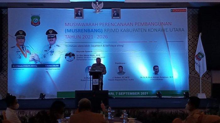 Musrenbang RPJMD Konawe Utara 2021-2016, Fokus Kesejahteraan dan Daya Saing Daerah