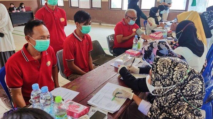 254 Narapidana Rutan Kelas II B Unaaha Ikuti Vaksinasi Covid-19 Kerjasama Dinas Kesehatan Konawe