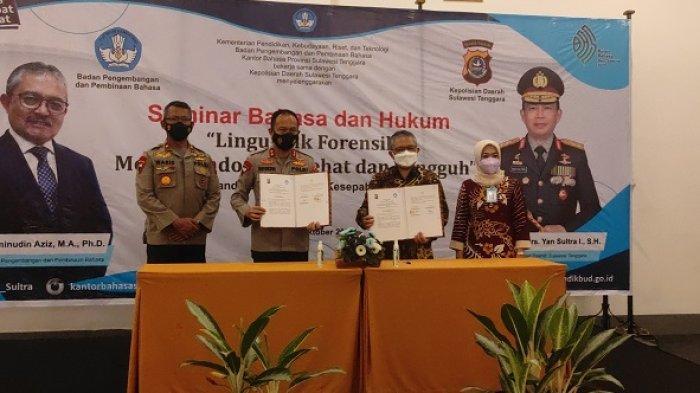 Seminar Bahasa dan Hukum Linguistik Forensik, Kapolda Yan Sultra Anggap Penting saat Penyidikan