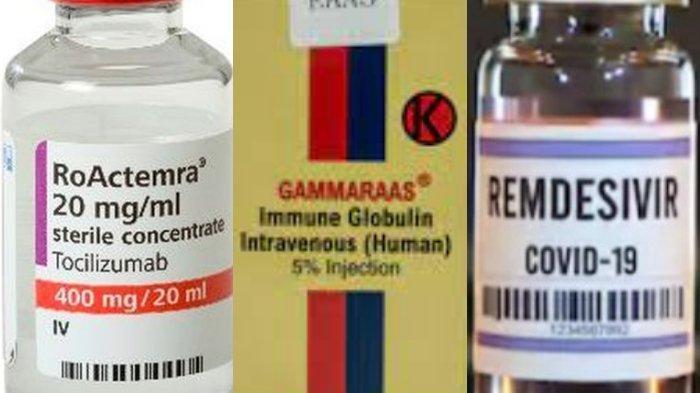 3 Obat Pasien Covid-19, Remdesivir, Actemra, Gammaraas Kini Langka, Diburu Pemerintah ke Luar Negeri