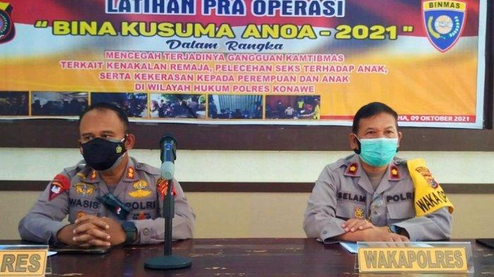 Polres Konawe Bakal Gelar Operasi Bina Kusuma Anoa Selama 10 Hari, Cegah Gangguan Kamtibmas