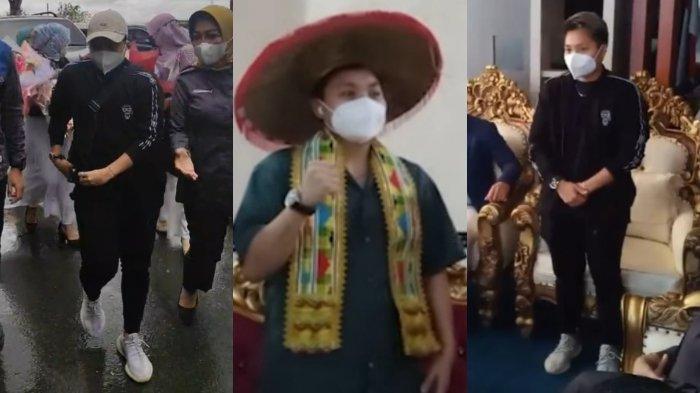Gaya Pakaian Apriyani Rahayu Saat Pulang Kampung di Sulawesi Tenggara, Jaket Sporty, Kemeja Gombrang
