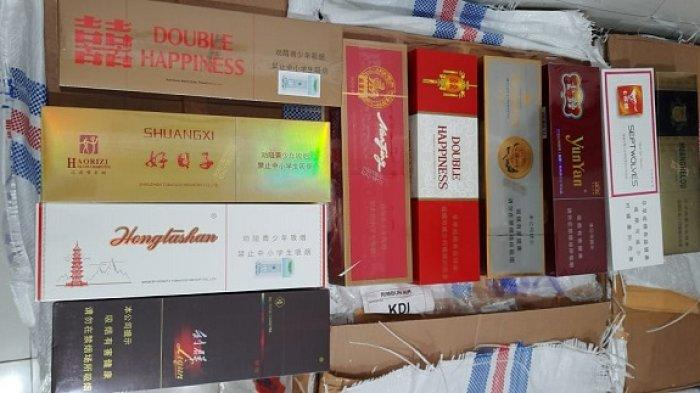 Bea Cukai Kendari Gagalkan Pengiriman 162 Ribu Rokok Ilegal asal Tiongkok, Kerugian Capai Rp140 Juta