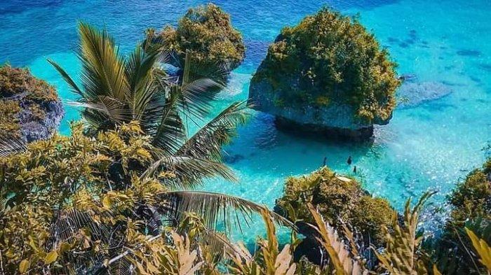 Pantai Bahari, 'Ratu Ampat Buton Selatan' yang Biru