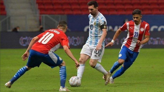 Kualifikasi Piala Dunia 2022: Paraguay vs Argentina, Rekor Lionel Messi, Dybala dan Aguero Absen