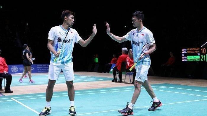 Siaran Langsung Thomas Cup 2020 Hari Ini Indonesia vs China Taipei,13.30 WIB live TVRI Tanpa Minions