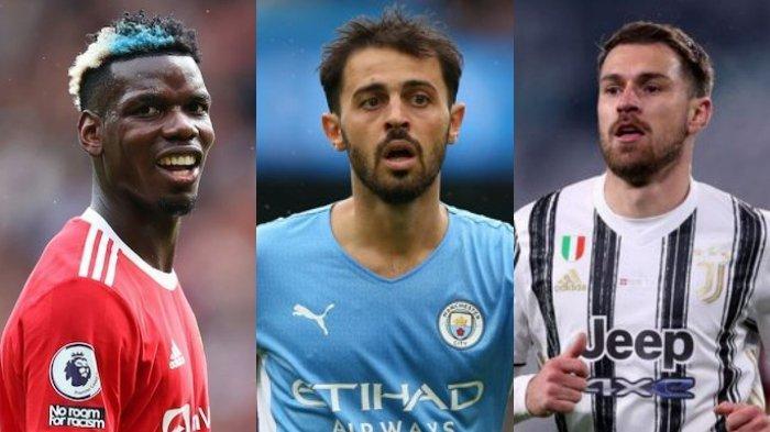 Juventus Ngebet Paul Pogba dari Manchester United, Pertimbangkan Bernardo Silva, Sodor Ramsey ke MU